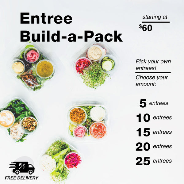 Entree Build-a-Pack - Raw Trainer
