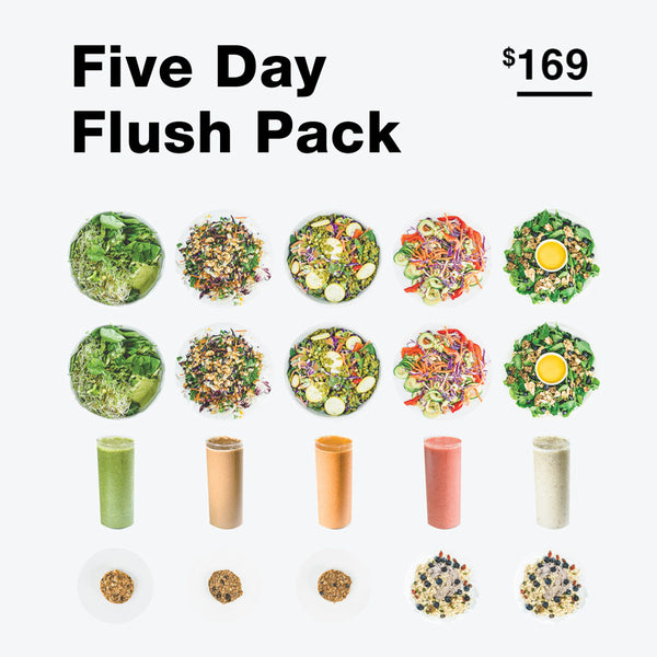 5-Day Raw Food Flush Pack - Raw Trainer