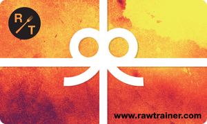 Raw Trainer Gift Card - Raw Trainer