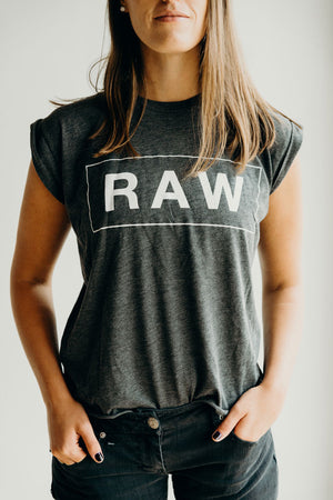 Raw Trainer Muscle Tank - Raw Trainer
