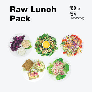 Raw Lunch Pack - Raw Trainer