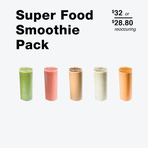 Superfood Smoothie Pack - Raw Trainer
