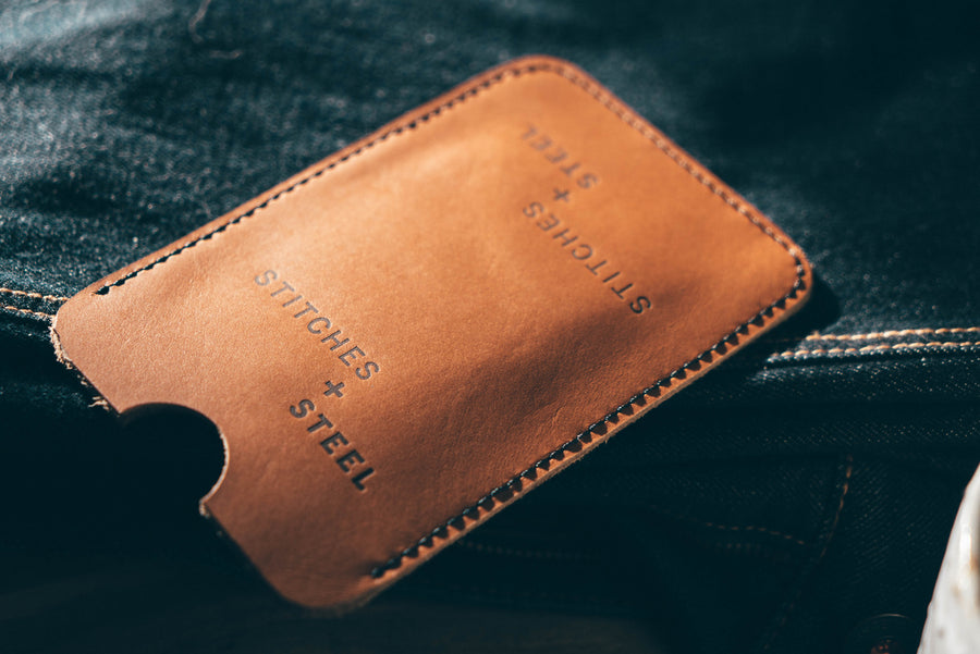 SOWK X S+S Leather Phone Wallet