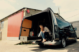 Volkswagen Transporter + Caddy Barn Door Awning