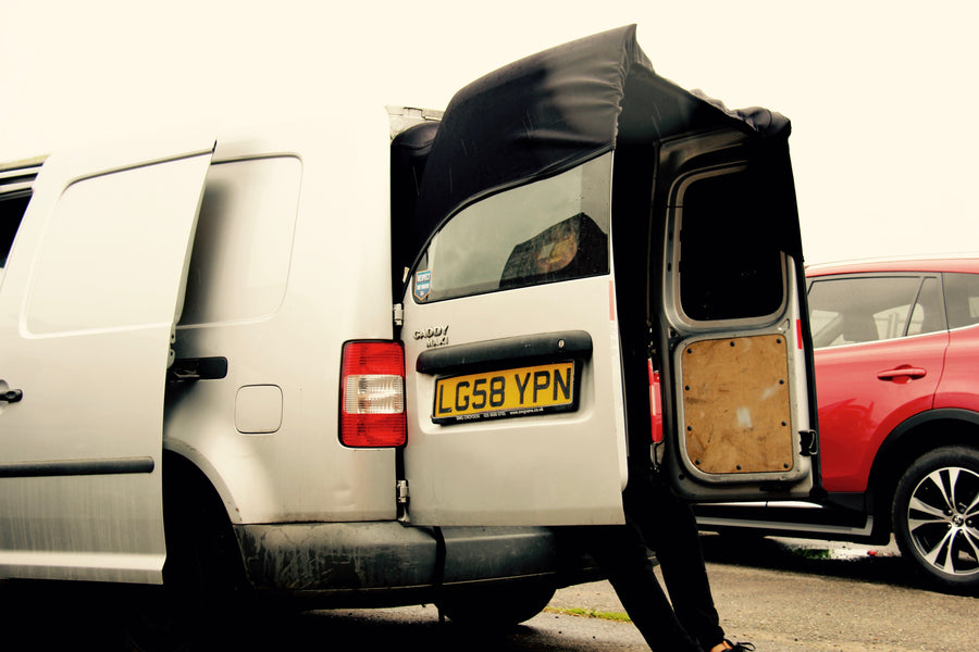 Volkswagen Transporter Barn Door Awning