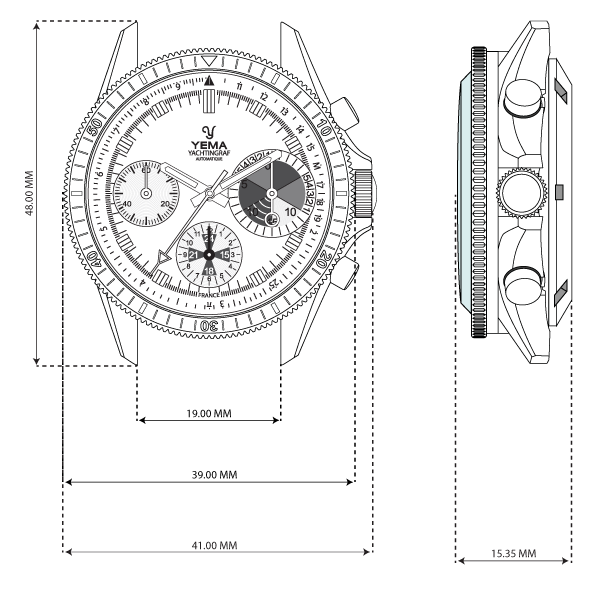 YACHTINGRAF HERITAGE TECH SPECS