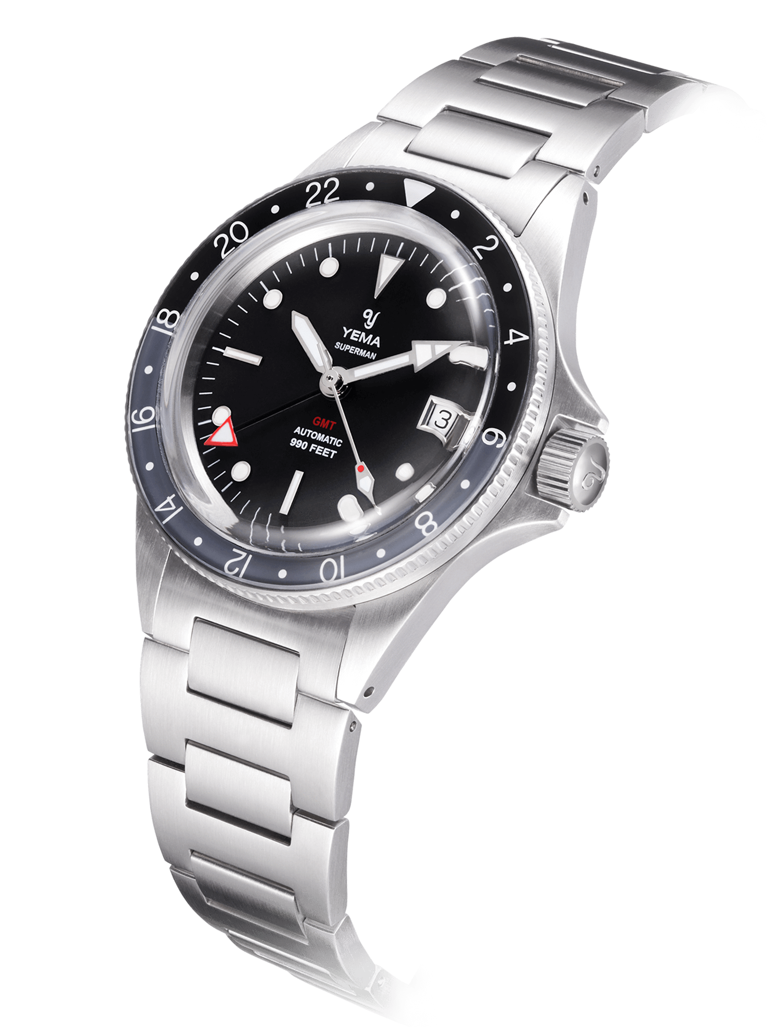 Yema Superman GMT Black Gray