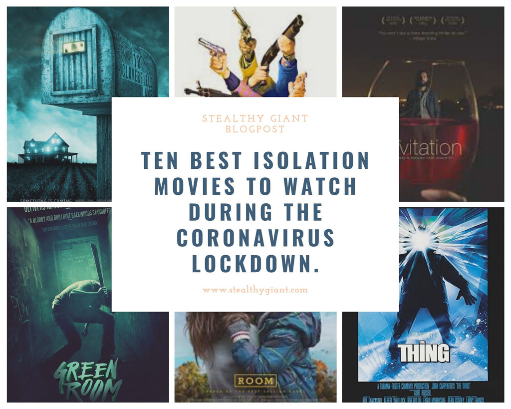 Ten Best Isolation Movies To Watch During The Coronavirus Lockdown.
