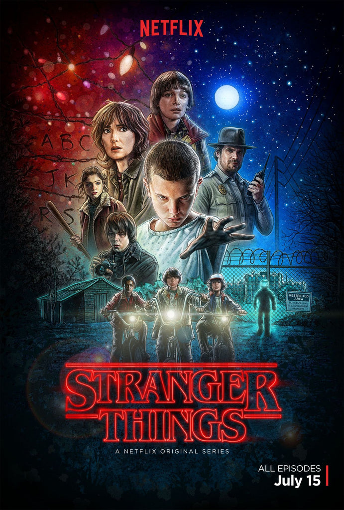 Netflix Supernatural Series Stranger Things Is The 80s Homage You Need.