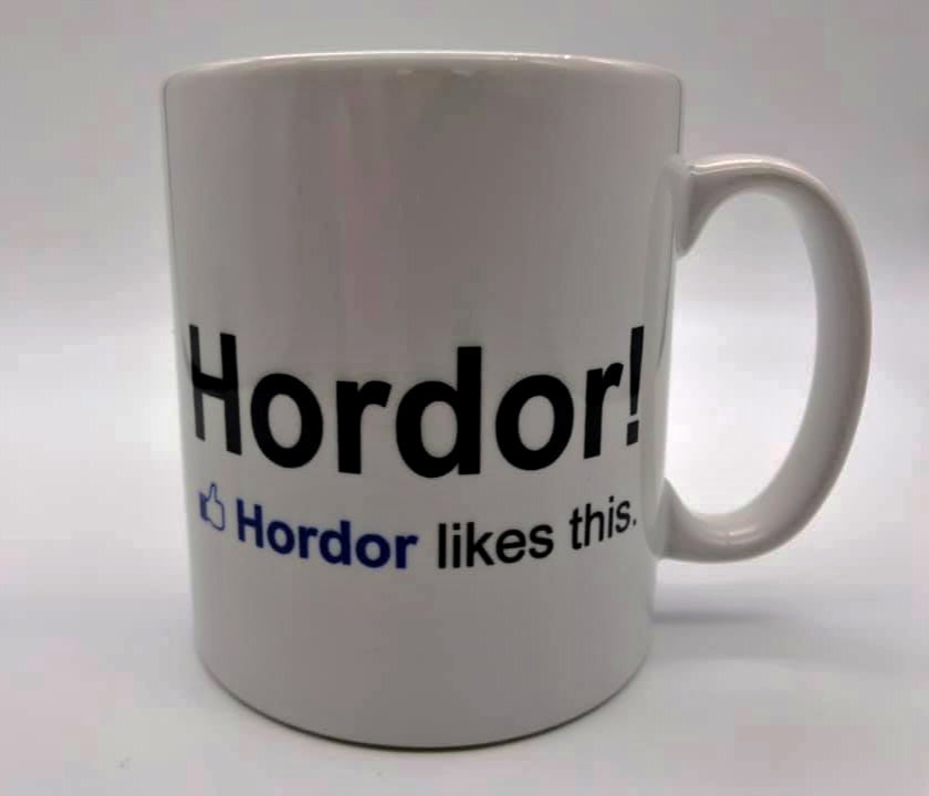 Game Of Thrones Mug  - Hodor Likes This | Stealthy Giant - Stealthy Giant