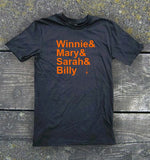 Hocus Pocus T-Shirt - Winnie & Mary & Sarah & Billy | Stealthy Giant