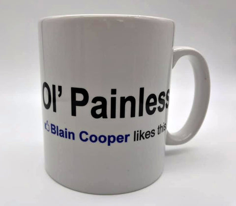 Predator Mug - Ol' Painless: Blain Cooper Likes This | Stealthy Giant - Stealthy Giant