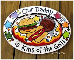 Dad, King of the BBQ