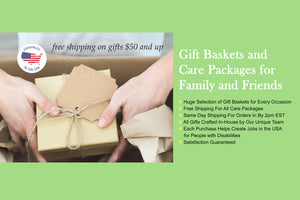 Gift Baskets and Care Packages by Gifts Fulfilled USA