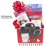 Get Well Gift Basket with Soup, Snacks, Crossword and Puzzle Books
