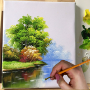 DAVELIOU™ STRETCHED CANVAS SETS represent great value, with no compromise on quality! Paint indoors or head outdoor and paint en plein air, whatever the occasion or mood – classroom, art class, studio or outdoors. Perfect base for your artwork!