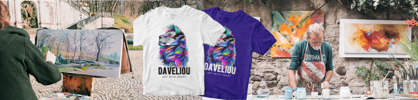 Daveliou™ is a branded online retail company providing creativity, merchandise, service, delivery and security which are combined to effectively promote customer loyalty and brand integrity.