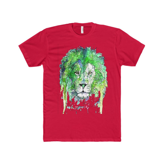 Lion Men's Crew Neck T-Shirt