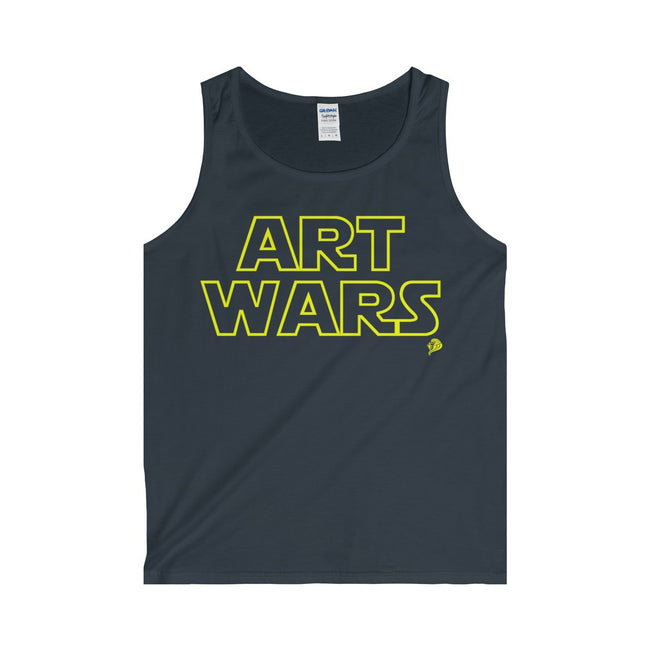 Art Wars Adult Tank Top