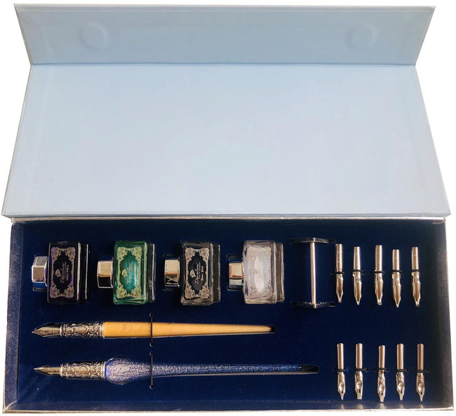 This professional calligraphy set is the best calligraphy set with two types of calligraphy pens including an elegant writer pen