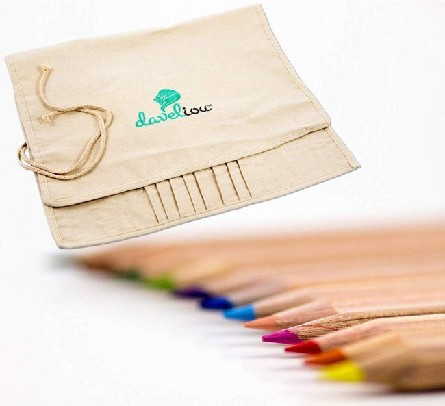 Daveliou™ paint brush case with ultimate craftsmanship, our vision is to provide high-quality supplies that work with you, not against you! This means producing a brush holder that works effectively and is built to last.  With Daveliou, there's no need to worry about the condition of your art supplies.