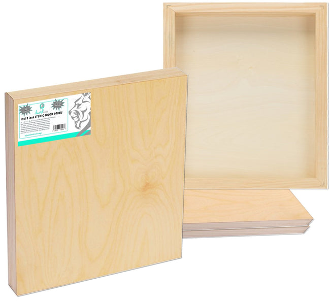 Daveliou™ classic studio depth pure Birch Wood Panels are suitable for fine or encaustic art, collage, impasto, encaustic, photos, pyrography or carving, stamping, modelling, general craft, digital, giclee and mixed media
