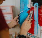 Daveliou™ artist grade Oil Paint for painting oil landscapes are water soluble containing pigment suspension in water-based surfactant binders emulsion providing a vibrant non-toxic and durable paint.  They are produced using sustainable materials from sustainably managed sources, preventing damage to eco-systems, watersheds, wildlife, trees and the protecting our worker's rights to live in safety, free from abuse and neglect.