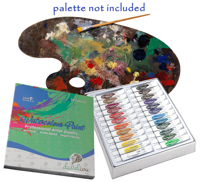 At Daveliou™ our vision is to provide high-quality craft supplies that work with you, not against you! Like winsor and newton watercolor palette ours also won't ever let you down. With Daveliou, there's no need to worry about the condition of your art supplies. We use only the best materials during the manufacturing process; providing our customers with products that allow for ultimate confidence.