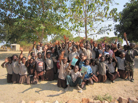 Zambia school children