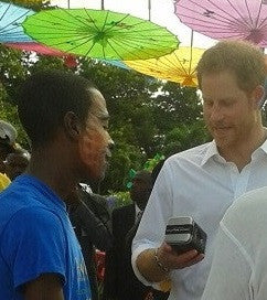 Prince Harry Caribbean Tour Antigua