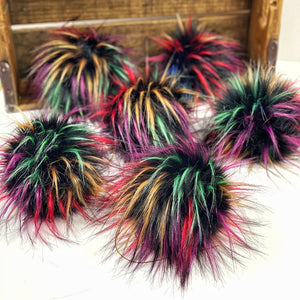 Fabulous Faux Fur Poms