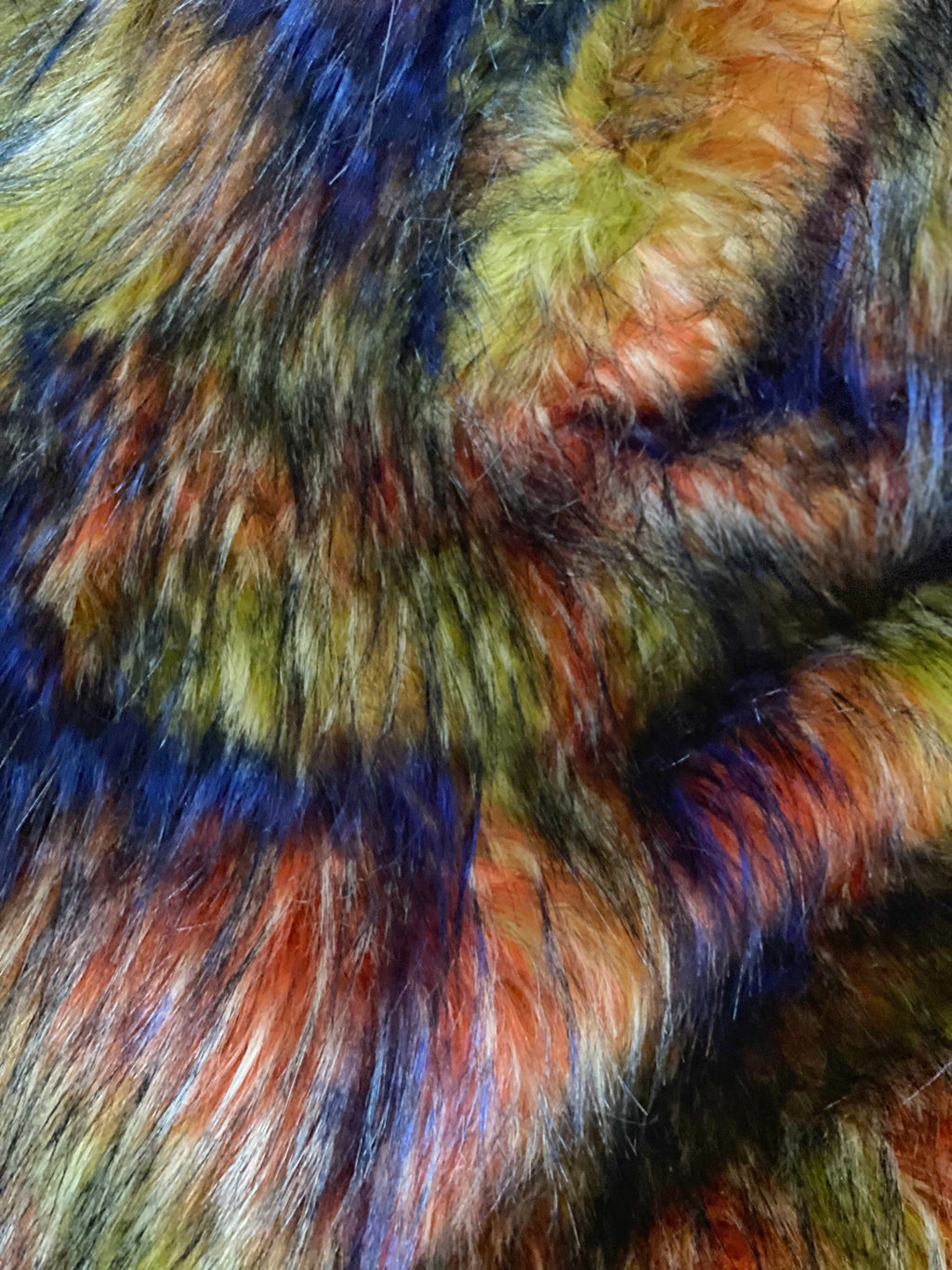 "Faux Fur Fabric Yardage ""Rio"" 1/4 Yard"