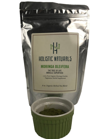 Organic Moringa Oleifera - 4 oz. (112 grams) Dried Leaf Powder