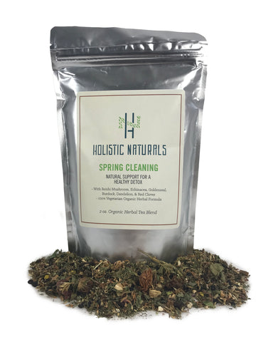 Spring Cleaning Herbal Teas