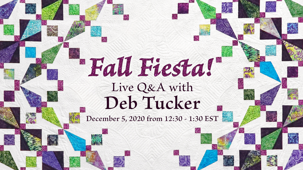 Fall Fiesta Live Q&A Session