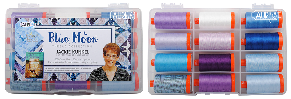 Aurifil Blue Moon Thread Collection