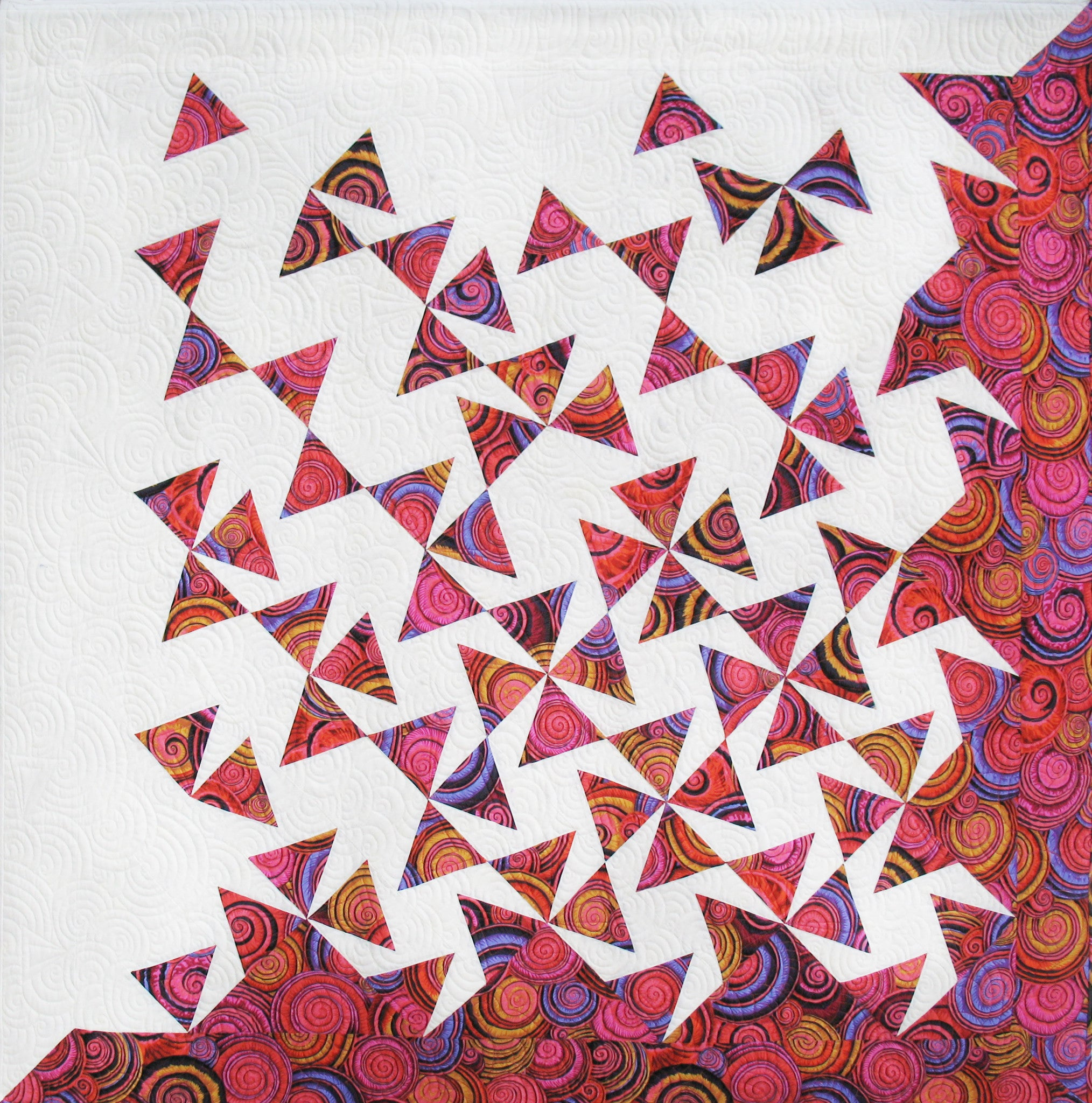tumbling triangles deb tucker s studio 180 design