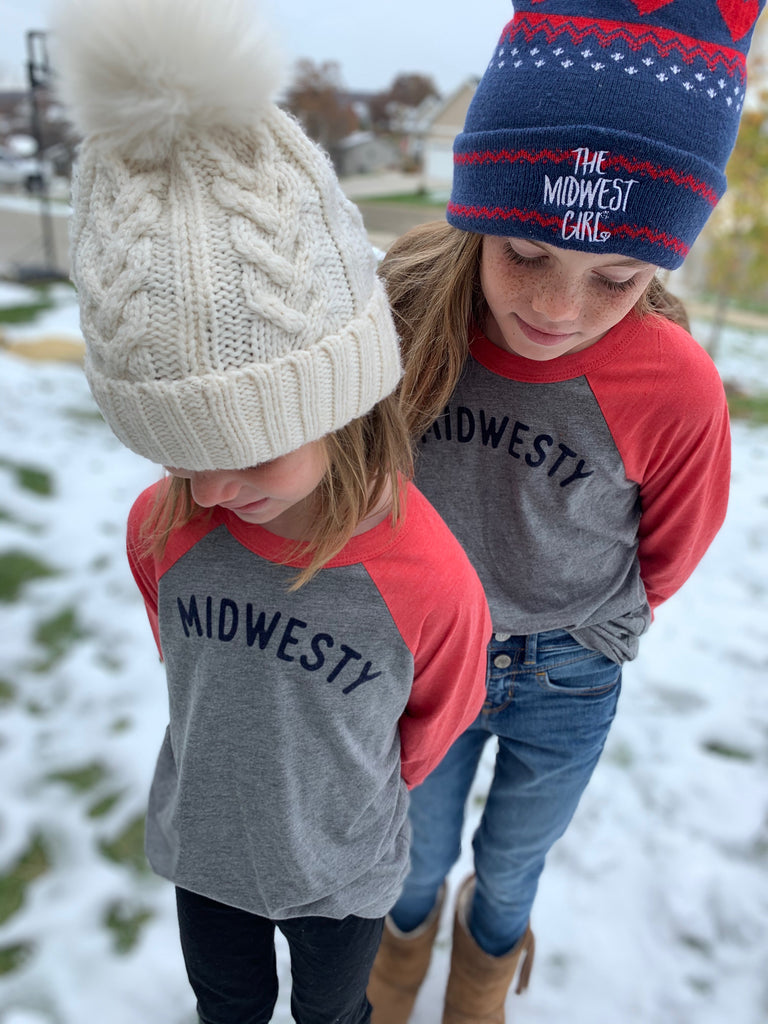 Midwesty® Baseball Tee for Littles
