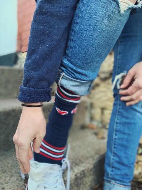 The Midwest Girl® Varsity Sock