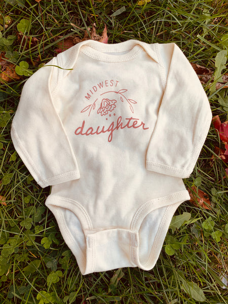 Alberta Long Sleeve Onesie