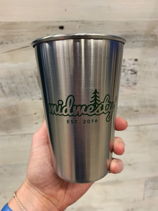 Camp Midwesty Stainless Steel Cup