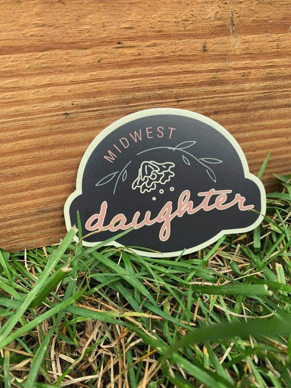 Midwest Daughter Sticker