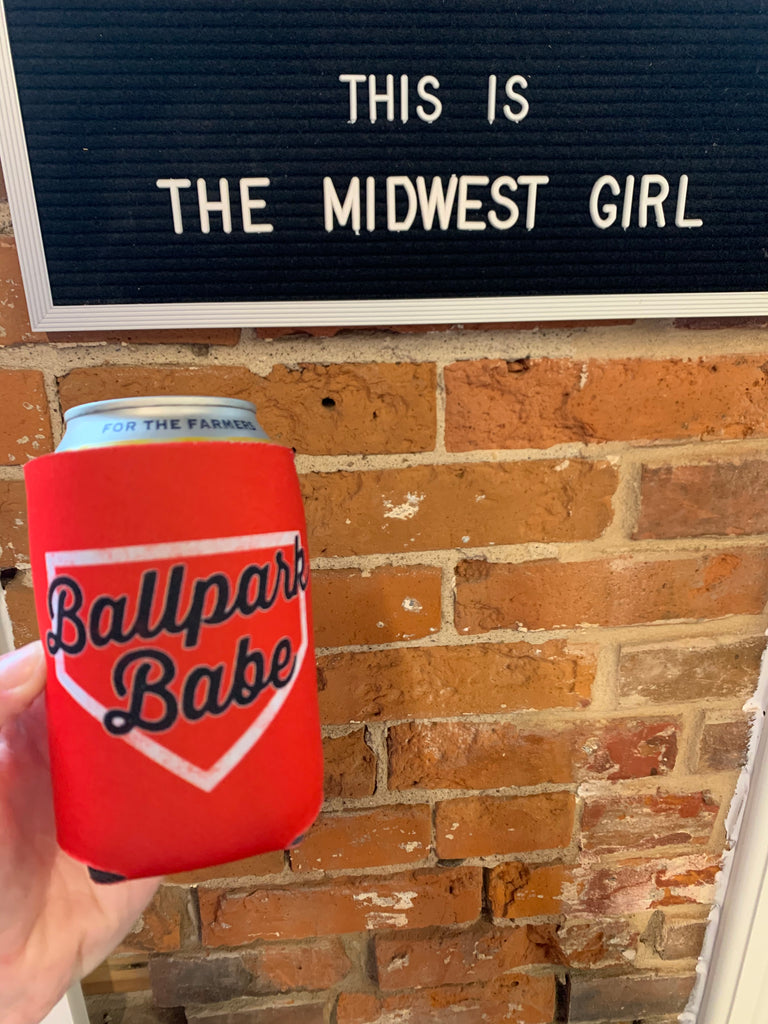 Ballpark Babe Coozie