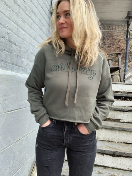 Camp Midwesty® Cropped Hoodie
