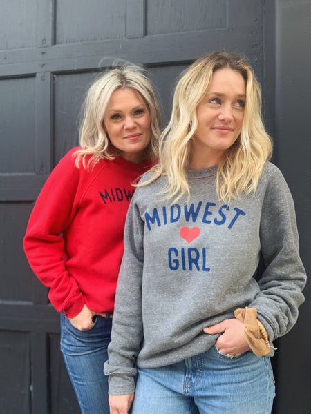 The Original Midwest Girl Crewneck
