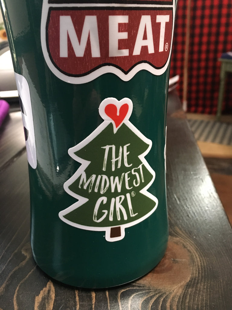 The Midwest Girl® Spruce Sticker