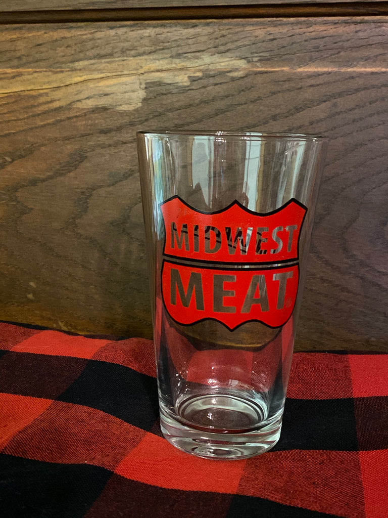 Midwest Meat® Pint Glass