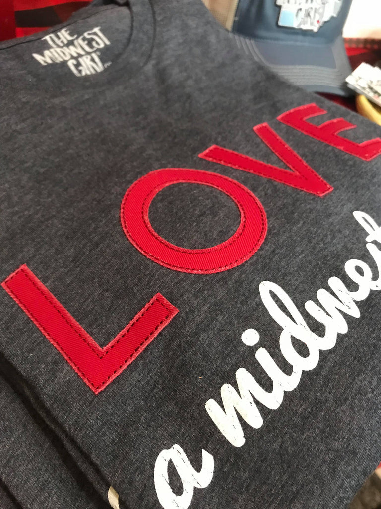 LOVE a Midwest Girl Long Sleeve Tee