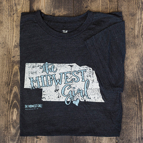 The Classic Nebraska State Tee