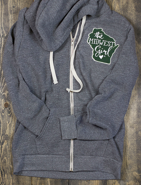 Wisconsin Campy Patch Zip Up